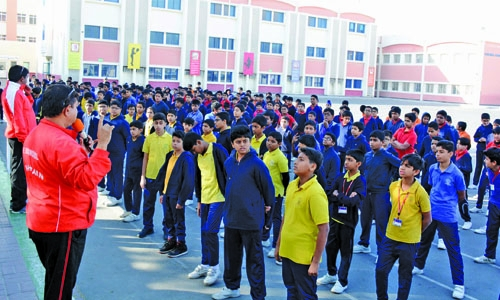 ISB organises Bahrain Sports Day