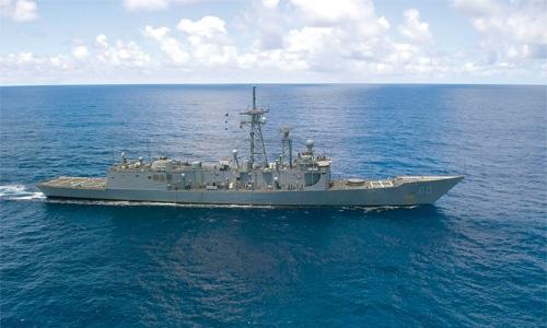 Pakistan naval ship makes goodwill visit
