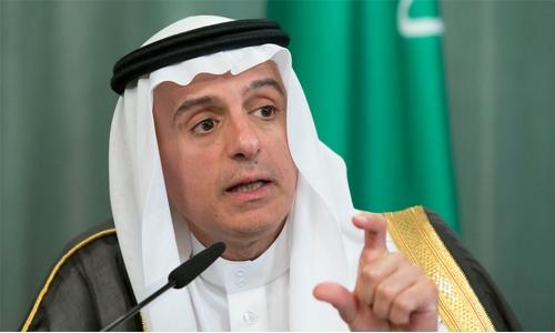 Saudi foiled Iranian bid to smuggle arms into Bahrain : Al Jubeir
