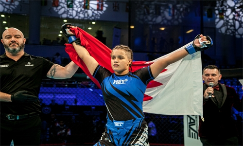 Bahrain World Champion amongst Best Female Athlete nominee in Mixed Martial Arts