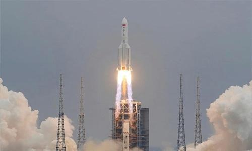Chinese Rocket Segment Plunges Back To Earth, Crashes Near Maldives