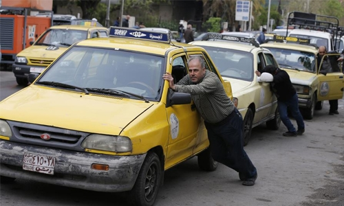 Syria's fuel crisis is hurting civilians, not the regime