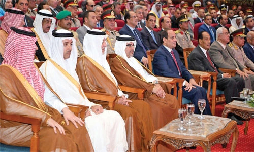 Crown Prince attends Military Base opening