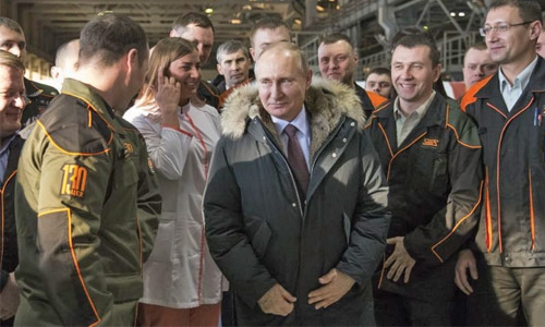 Putin rides Russia First wave toward election win