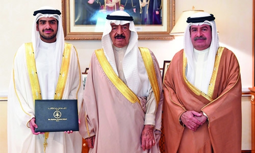 HRH Premier congratulates grandson on graduation