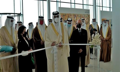HH Shaikh Isa bin Salman bin Hamad Al Khalifa inaugurates 47th Bahrain Fine Arts Exhibition