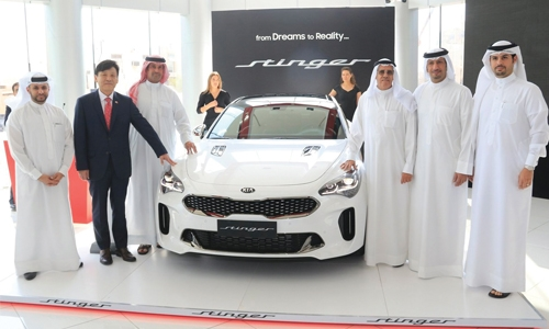2018 KIA Stinger launched in Bahrain