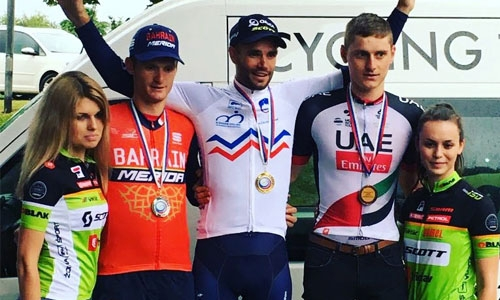 Bahrain Merida rider achieves second place in Slovenia