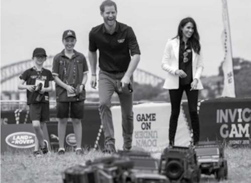 Prince Harry opens Invictus Games for disabled