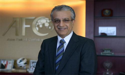 Bahrain's Sheikh Salman enters race for FIFA presidency