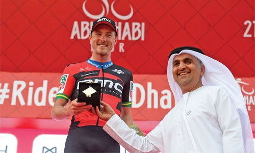 Brand among the points in Abu Dhabi