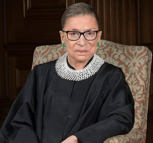 The death of US Supreme Court Judge Ruth Bader Ginsburg