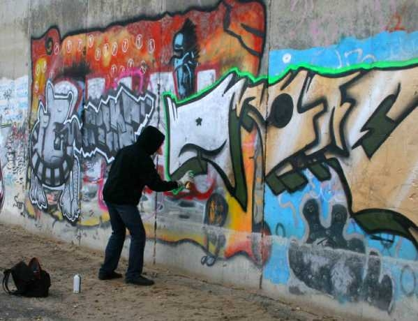 Saudi national jailed for vandalism