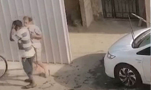 Bahrain police arrest man for slapping worker unconscious in viral video