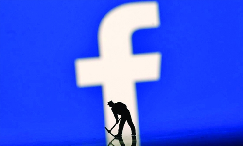Facebook shares tumble