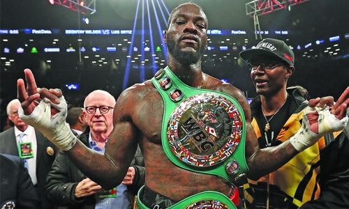 Wilder 'ready' for Joshua after beating Luis Ortiz