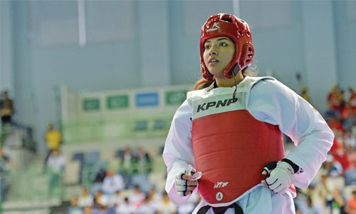Jumana misses out  on taekwondo medal