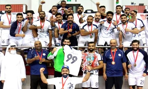 Al Najma crowned handball league champions