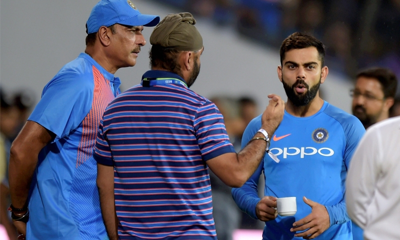 India's Shastri under fire after England series