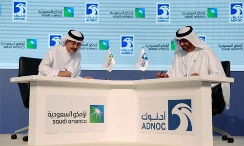 Saudi and UAE energy giants team up for gas