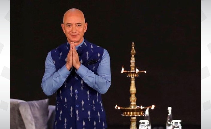 Amazon offers India's small business owners $1 billion olive branch