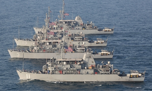 US minesweepers in Gulf unreliable!