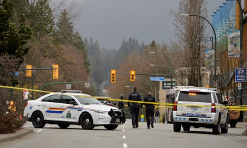One dead, five wounded in stabbing at Vancouver library, suspect in custody