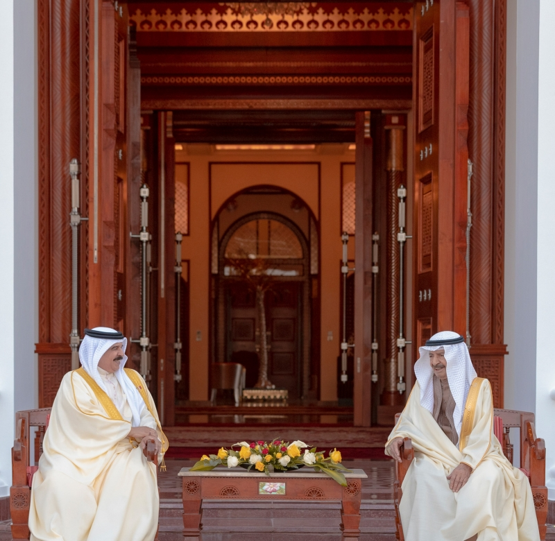 HM the King receives HRH the Premier, leadership exchange Ramadan greetings
