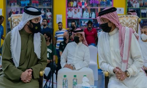 HH Shaikh Khalid bin Hamad Al Khalifa crowns bowling champions