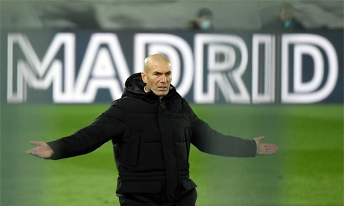 Zidane says he quit Real because of club's lack of 'faith'