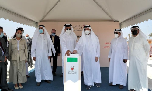 Bahrain Housing Ministry begins constructions of apartments in Salman City