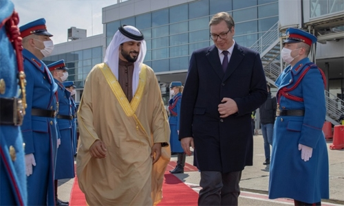 Shaikh Nasser wraps up fruitIful Serbia visit