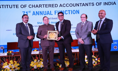BCICAI named best 2020 overseas Chapter of ICAI