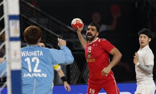 Bahrain lose to Japan in World Handball Championship