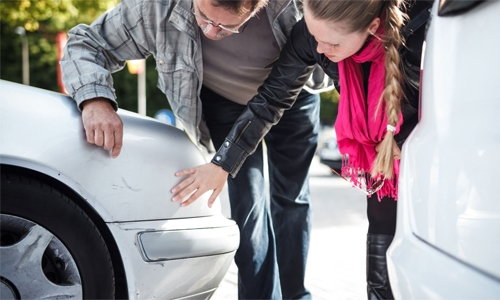 Woman fined BD100 for damaging  car