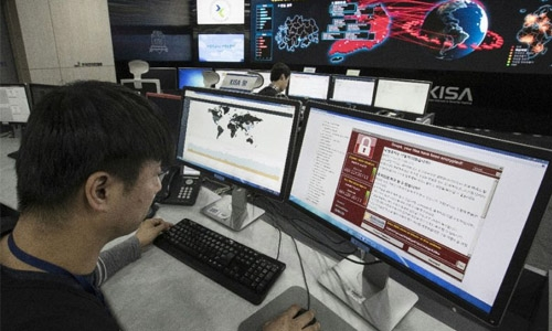 North Korea-linked hackers 'highly likely' behind WannaCry