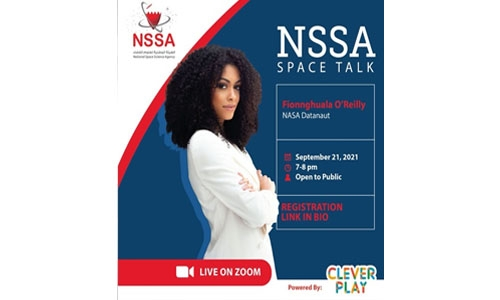 NSSA launches Space Talks 2021 with new face of space science