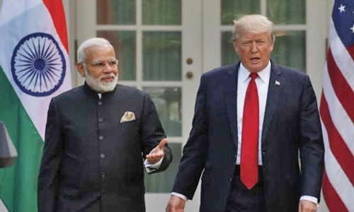 India, US to have world's greatest armies: say Trump, Modi