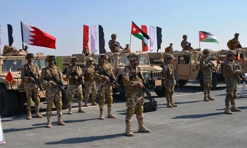 BDF participates in Arab Shield 1 drill