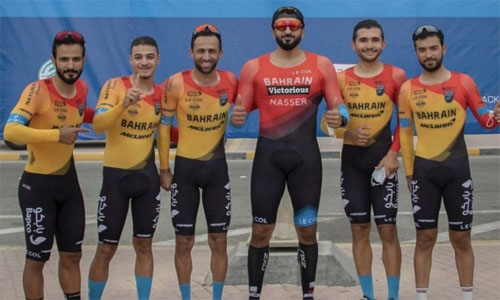 Bahrain Victorious triumphs in Team Trial Time Mixed Relay