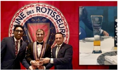 La Pergola takes first place in annual Chaîne des Rôtisseurs