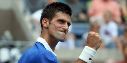 Novak Djokovic into US Open last 16