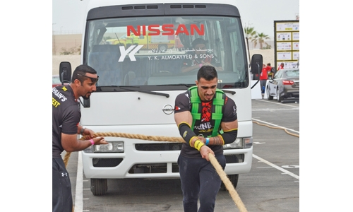 Emad Hussain is Bahrain's Strongest Man