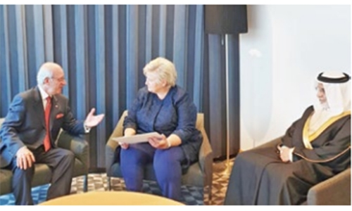 Norway Premier invited to visit Bahrain
