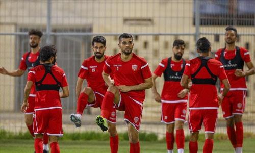 Bahrain shift focus to Iran test