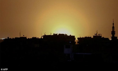 Israeli missiles hit near Damascus airport