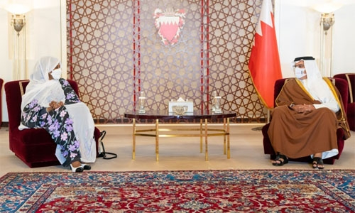 HRH Prince Salman affirms Bahrain support for Sudan efforts to enhance regional security and stability