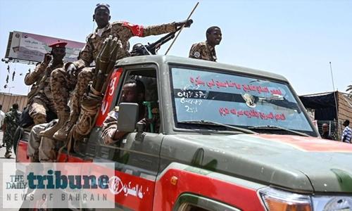 Heavy security presence in Khartoum