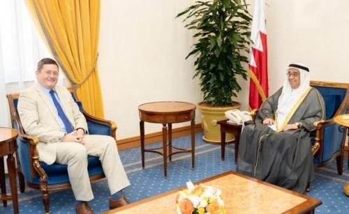 Deputy Premier receives British Ambassador