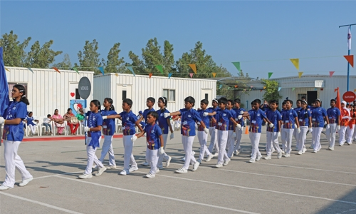 New Horizon School holds sports meet